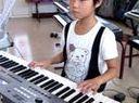 电子琴演奏老黑奴(阳原哆来咪王彤羽)