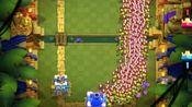 一个巨石投手能顶住1000个哥布林的进攻吗?皇室战争花絮