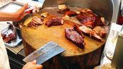 香港老字号特色烧腊店,烧肉拼叉烧38一份,肉多菜少生意火爆