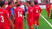 6人制世界杯:中国3-2领先法国时罢赛,被判告负 疑似不满裁判