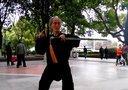 手机视频作品:湘江风光带 77岁习武老者
