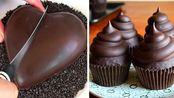 2020年情人节自助点心|简易巧克力蛋糕食谱|神奇巧克力蛋糕创意【Mr. Cakes】 - 20200214