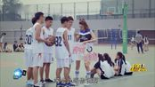 我的!体育老师:小米来学校给老马当啦啦队,这下可热闹了