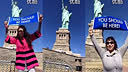 19、Worldventures 加盟商在纽约自由女神 [旅游]