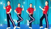 黄市彩色小屋广场舞《欧毒DJ》原创瘦腰健身操一学就会