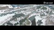 航拍赤峰雪景—正阳