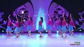 《欢歌起舞 背面展示》北京华丽飞歌广场舞