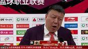 赛后采访王建军:球员打得很努力 没打出速度节奏不好