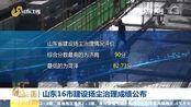 山东16市建设扬尘治理成绩公布 济南最高90分 菏泽最低82.73分