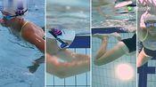 游泳教学视频 :基本游泳动作 蛙泳教程!