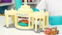 赛车总动员 雷蒙的涂装工厂变色玩具分享 11