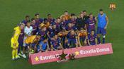 梅西传射苏亚雷斯破门 巴萨5-0巴西空难球队