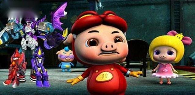 猪猪侠官方正版 小菲菲拖延时间,猪猪侠战败暗灵卫幻影