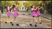 校园大学生的健美操表演