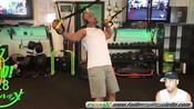 TRX训练背部肌肉