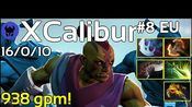 938 gpm! XCalibur plays Anti Mage!!! Dota 2 7.19