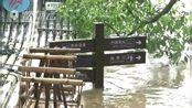 南平市多个县遭遇暴雨 武夷山景区竹筏被冲走