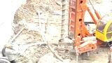 CFG干螺旋钻机|CFG桩机|CFG桩架|华英打桩机成桩快|赵经理