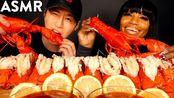 【zach choi】12条龙虾尾,配上bloveslife(和bloves sauce配方)烹饪和食用声音(2019年9月8日13时46分)