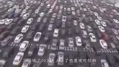 中国破纪录的一次堵车,一百公里内全是汽车,塞车时间长达二十天
