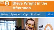 Craig David做客BBC Radio 2电台节目Steve Wright In The Afternoon完整版音频