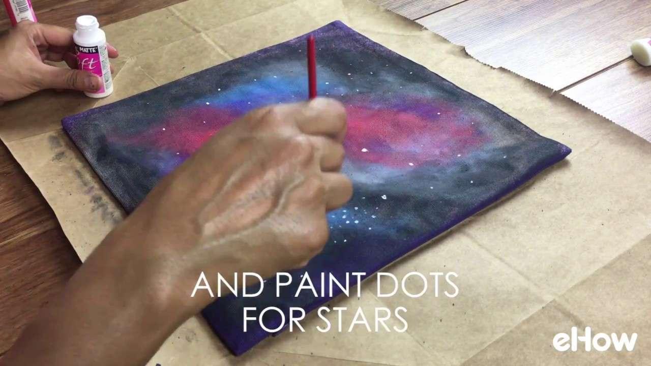 如何在抱枕上画出宇宙
