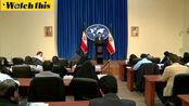 伊朗外长:美国试图利用这次抗议 利用人民的压力向政府施压