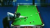郑宇伯这是创造了中式桌球的奇迹!单杆清仅用了58秒
