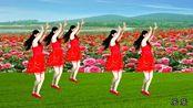 热门神曲广场舞《玫瑰花儿开》,鲜艳美丽只等你来摘