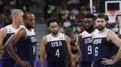 美国队两连败,7场比赛场均仅86.4分,创下队史最差成绩