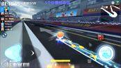 跑跑卡丁车:经典地图1分53秒,主播左左冠军时刻