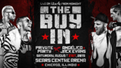 【AEW】2019.09.01 All Out - The Buy In 垫场赛:Private Party vs. Angelico & Jack Evans