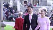 刘强东章泽天牵手出席英国皇室婚礼夫妻关系稳固恩爱如初