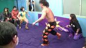 Gatoh Move 2013年2月24日、市ヶ谷チョコレート広場大会より、「ことり」vsマサ高梨のシングルマッチ