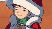 魔法雪花(片段)圣诞老人退休了,把工作交给了一个孩子