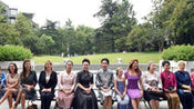 彭丽媛邀请出席G20杭州峰会外方代表团团长夫人参观中国美术学院