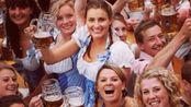 吃货们颤抖吧! 慕尼黑啤酒节开幕, 面对酒池肉林, 你怎么能看得下去