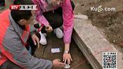 圆明园今晨考古现场 远瀛观第一次出土瓷砖 特别关注 161020