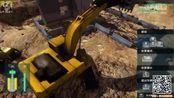 《建筑模拟2016》04 挖掘机拆砖房 挖掘机 工程车 装载机 搅拌车 模拟经营游戏
