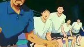 灌篮高手:湘北五虎全部登场,鱼柱观察到三井的投篮姿势很熟悉