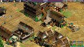 帝国时代黑森林,高丽王国被合攻,被挤坏了