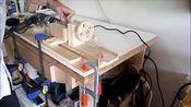 如何使用电钻做微型木工车床