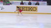 2018年花样滑冰大奖赛 法国站  女单短节目  本田真凛