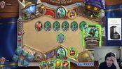 策略游戏《炉石传说》:玩家这招好厉害,大家快来膜拜他啊!