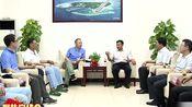 《三沙新闻》市委书记、市长肖杰会见中国交通建设集团总裁陈奋健