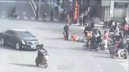 徐州小伙扶人反被讹 交警看监控后当场怒了