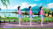 网络热歌DJ广场舞《花桥流水》动感32步,好学好看