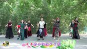 紫竹院广场舞《康巴情》,好看的舞蹈,美丽的舞者!