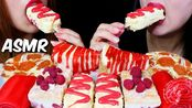 【kim&liz】红白食品(芝士蛋糕、披萨、果冻、马卡龙蛋糕、冰淇淋)Kim&Liz(2019年7月27日22时41分)