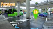 长途客车模拟 #162:无法到达的终点站 绕晕导航的尼斯蓝色海岸机场 | Fernbus Simulator